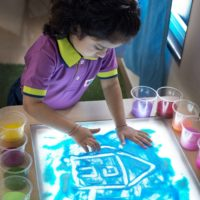 Learning through the light table