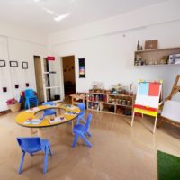Our resourceful Art Studio facilitating children to express their ideas creatively