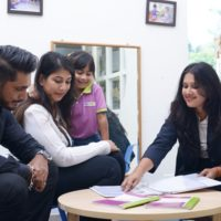 Sharing the child's learning journey with parents